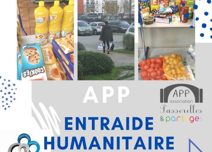 app collecte denrées alimentaires produits d'hygiènes